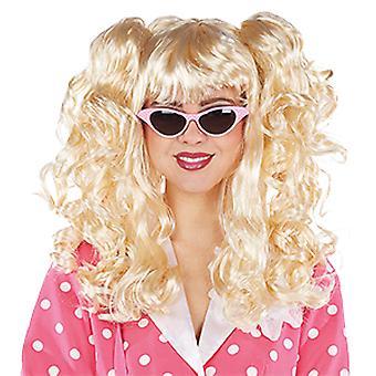 Susi med variabel rottehaler blonde dame paryk tilbehør karneval side skære
