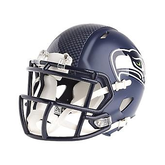 Velocidade de NFL Seattle Seahawks Riddell capacete de futebol mini-