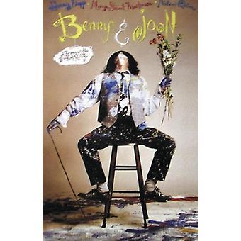 Benny & Joon poster Johnny Depp on Chair