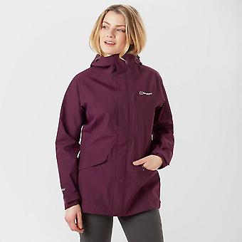 New Berghaus Women's Hillmaster Waterproof Full Zip Jacket Purple