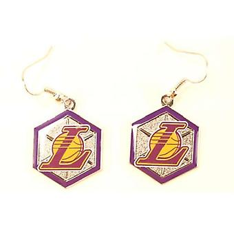 Los Angeles Lakers NBA Sophie Style Dangle Earrings