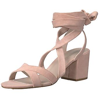 Kenneth Cole New York Womens Victoria Leather Open Toe Casual Ankle Strap San...