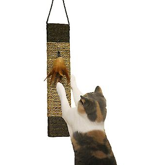 Rosewood Jolly Moggy Scratch And Play Catnip Mat