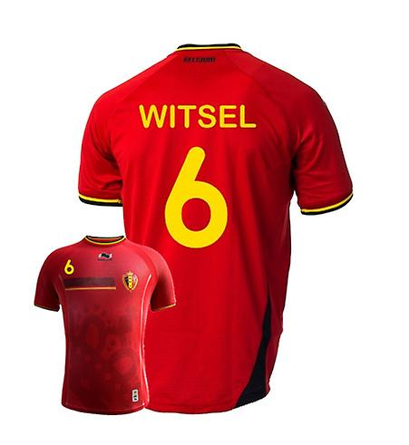 2014-15 Belgium World Cup Home Shirt (Witsel 6)