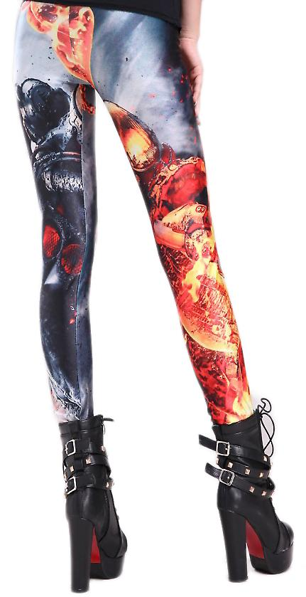 Waooh - Mode - Legging imprimé ghost rider