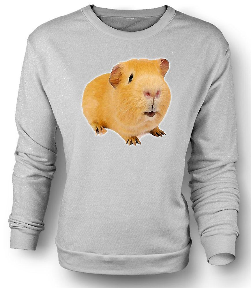 Mens Sweatshirt Guinea Pig 2 - Pet Animal