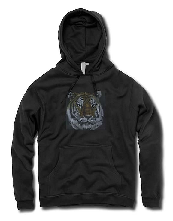 Mens Hoodie - Tiger - Faune