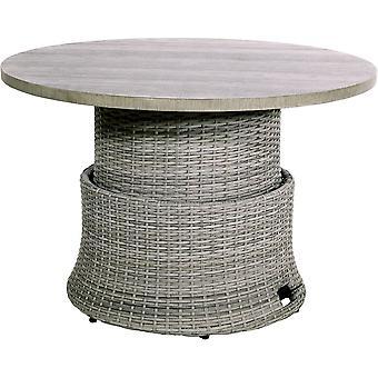 Supper Club verstelbare salontafel Soho Ø100cm - brick