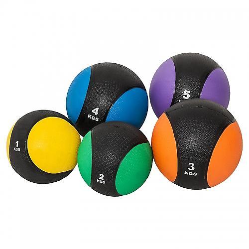 M�decine ball 5kg violette/noir