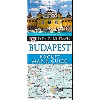 DK Eyewitness Pocket & opaskartta Budapest (DK Eyewitness Pocket kartta ja opas)