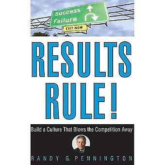 Resultat regel!: bygga en kultur som blåser konkurrensen bort