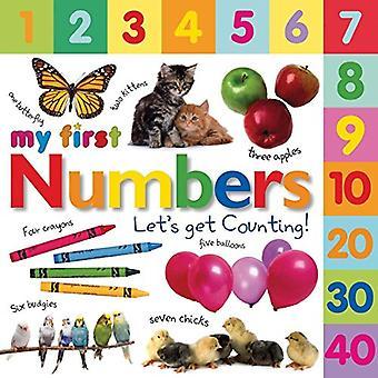 Moje pierwsze numery: Let's Get liczenia (DK mój pierwszy książek pokładzie)
