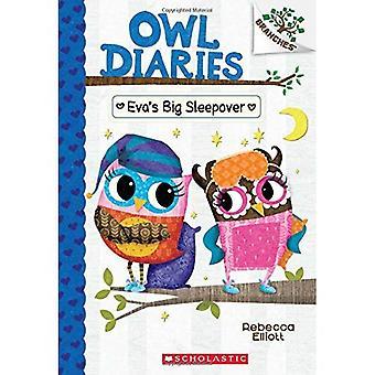 Evas große Sleepover: ein Branchen-Buch (Eule Diaries #9) (Owl-Tagebücher)