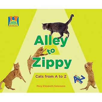 Alley to Zippy: Cats from A to Z (Super Sandcastle: Let's Learn A to Z)