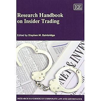 Ricerca manuale di Insider Trading (manuali di ricerca in diritto societario e di Governance serie)