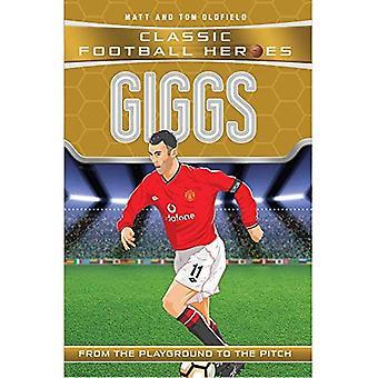 Giggs - héroes de fútbol clásico (libro en rústica)