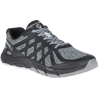 Merrell Womens Bare Access Flex 2 Mesh Lace Up Trainers