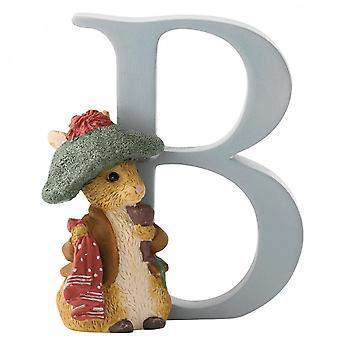 Beatrix Potter alfabetet bokstaven B Benjamin Bunny figur