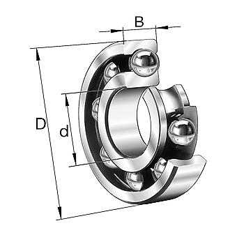 NSK 6207C3 Open Type Deep Groove Ball Bearing 35X72X17Mm