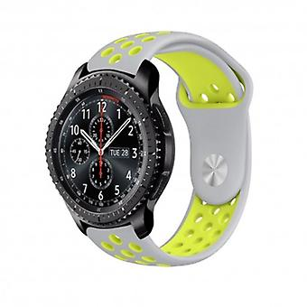 Ebn sports armband Samsung Gear S3 Grey-yellow