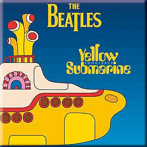 Beatles Yellow Submarine Songtrack fridge magnet   (ro)