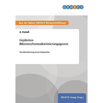 Geplantes Bilanzrechtsmodernisierungsgesetz av Kaindl & A.