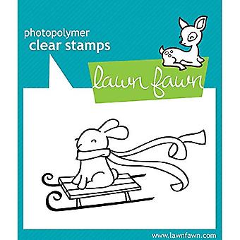 Lawn Fawn Christmas Stamps Winter Bunny (LF327)