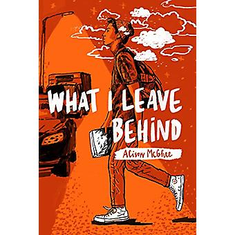 What I Leave Behind by Alison McGhee - 9781481476560 Book