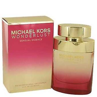 Wonderlust Sensual Essence By Michael Kors Eau De Parfum Spray 3.4 Oz (women) V728-538661