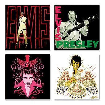 Elvis Presley 68 special various designs new official 4 x fridge magnet Gift set