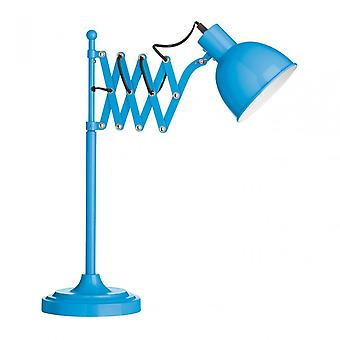 Premier Home tafel lamp, metaal, blauw