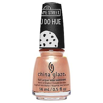 China Glaze Sesame Street You Do Hue 2019 Nail Polish Collection - I Believe In Snuffy (84679) 14ml