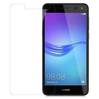 Cadorabo Tank Film for Huawei Y6 2017 - Protective Film in KRISTALL KLAR - Tempered Display Protective Glass in 9H Hardness with 3D Touch Compatibility