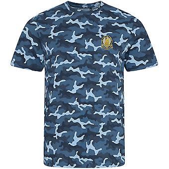 14. konger Hussars-licenseret britisk hær broderet camouflage print T-shirt