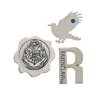 Harry Potter Lapel Pin House Ravenclaw Emblems new Official Metal 3 Pack