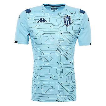 2019-2020 Monaco Pre Match Training Shirt (Blue Sky)