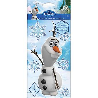 Frozen Repositionable Stickers-Olaf E5330021