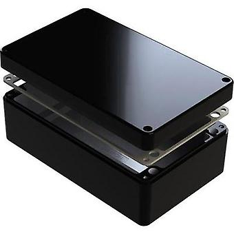 Universal enclosure 220 x 120 x 90 Aluminium Black Deltron Enclosures 487-221209E-66 1 pc(s)