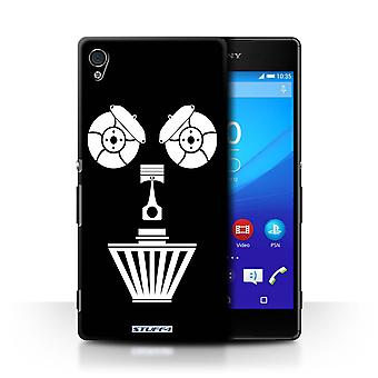 STUFF4 Case/Cover for Sony Xperia Z4v/E6508/Air Filter/Black/Car Part Faces