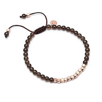 Lola Rose Marylebone Bracelet Smokey Quartzite