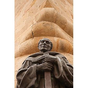 Estátua de San Pedro de Alcántara Caceres Espanha Poster Print por Walter Bibikow