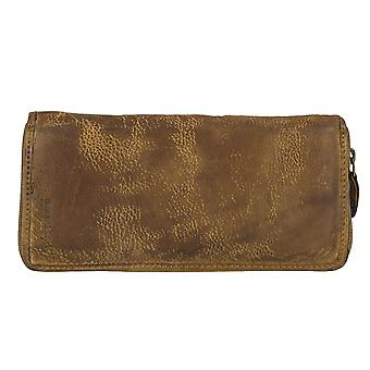 Greenland soft bags leather zipper purse 2675-25