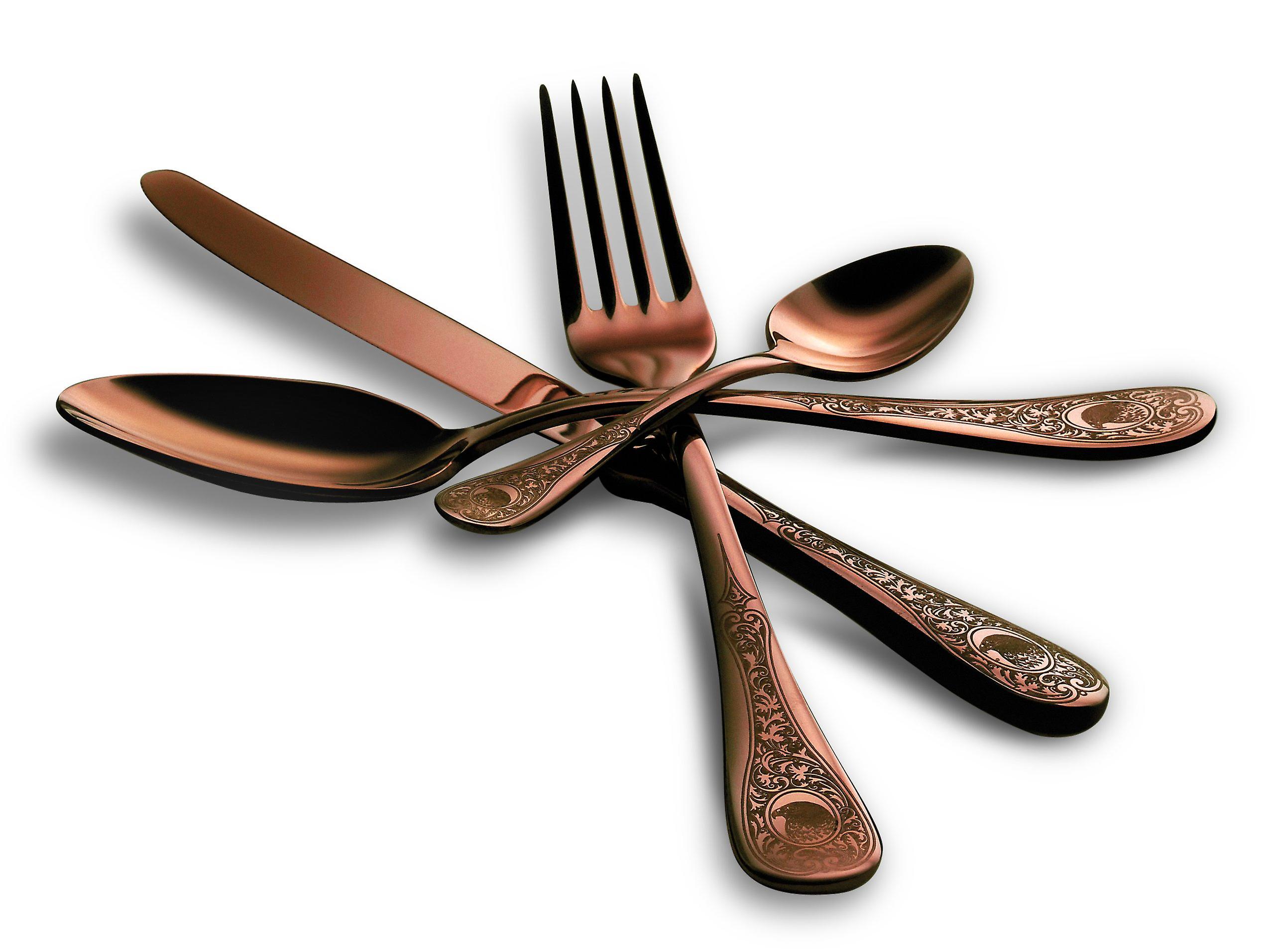 Mepra Diana Bronzo 24 pcs flatware set