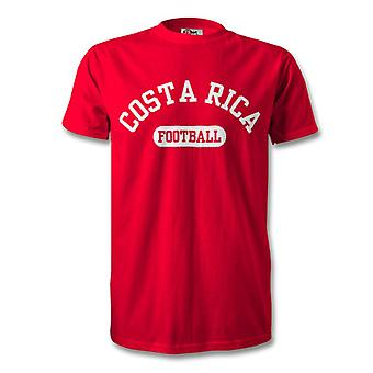 Costa Rica fútbol Kids t-shirt