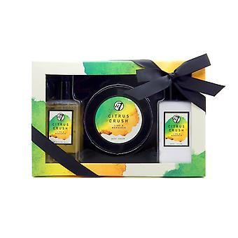 W7 Citrus krossa Lime & Mandarin bad & kropp Gift Set