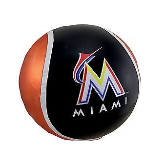 14 Inch Diameter Yall Ball Miami Marlins Inflatable Bouncy Ball