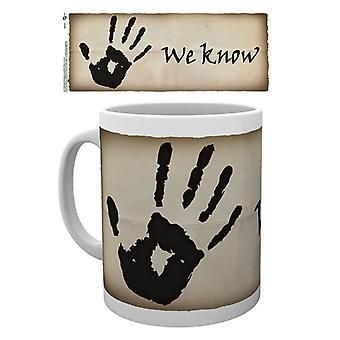 Skyrim Dark Brotherhood Mug