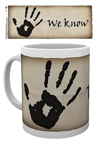 Skyrim Dark Brotherhood Mug