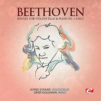 L.V. Beethoven - Beethoven: Sonata for Violoncello & Piano No. 1 & 2 [CD] USA import