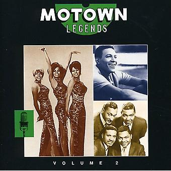 Motown legender - Vol. 2-Motown legender [CD] USA importerer